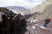 Trek au Ladakh, col de Stok - Trek in Ladakh, Stok pass, ref eb081702GE