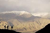 Trek au Ladakh, près du village de Stok - Trek in Ladakh, the village of Stok, ref eb081769GE
