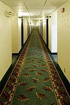Couloir de motel - Motel corridor, ref ee080949LE