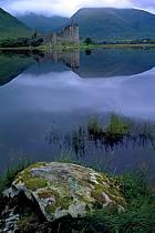 Kilchum Castle, Loch Awe, Highlands, Ecosse, ref ee2068-34GE