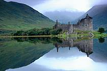 Kilchum Castle, Loch Awe, Highlands, Ecosse, ref ee2068-37GE