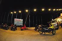 Ile de Kalymnos, port de Masouri, Scooters, ref ef064472GE