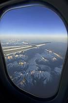 Vol au-dessus des Pyrénées - Flight over the Pyrenees, ref ef072445LE
