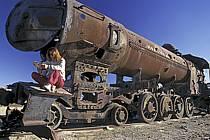 Cimetière de locomotives / Trains cemetery, Uyuni, Sud Lipez, ref ef1228-09GE