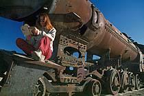 Cimetière de locomotives, Uyuni, Sud Lipez, ref ef1228-10GE