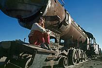 Cimetière de locomotives, Uyuni, Sud Lipez, ref ef1228-12GE