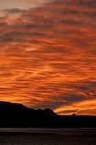 Ciel embrasé au lac Powell, Arizona, ref fa0657-16LE