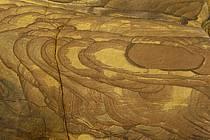 Grès coloré dans le canyon de Mujib, ref fa070687LE