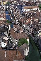 Le Palais de L'Isles, les Vieilles Prisons, le canal du Thiou, Annecy, Haute-Savoie, ref fc0251-25LE
