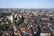 Le Château, le Palais de l'Isle, le Canal du Thiou, Annecy, Haute-Savoie, ref fc0252-05LE