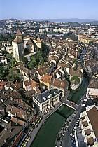 Le Château, le Palais de l'Isle, le Canal du Thiou, Annecy, Haute-Savoie, ref fc0252-07LE