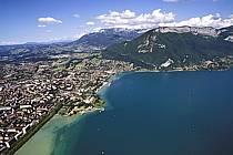 Lac d'Annecy, le Mont Veyrier, Haute-Savoie, ref fc0593-38LE