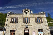 Gare du Montenvers, Mer de Glace, Chamonix, Haute-Savoie, ref fc062757LE