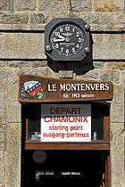 Gare du Montenvers, Mer de Glace, Chamonix, Haute-Savoie, ref fc062758LE