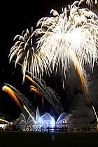 Feu d'artifice, Fête du Lac d'Annecy - Fireworks, Fete du Lac d'Annecy, ref fc081300LE