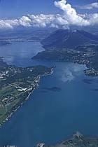 Lac d'Annecy, Duingt, le Mont Veyrier, Annecy , Haute-Savoie, ref fc2031-36LE