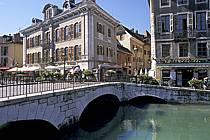 Canal du Thiou, Annecy, Haute-Savoie, ref fc2033-19LE