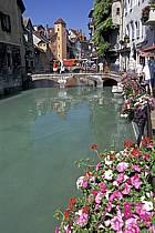 Canal du Thiou, Annecy, Haute-Savoie, ref fc2043-18LE