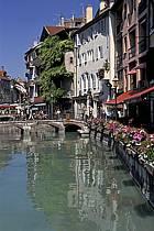 Canal du Thiou, Annecy, Haute-Savoie, ref fc2043-21LE