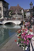 Palais de L'Isles, Vieilles Prisons, Canal du Thiou, Annecy, Haute-Savoie, ref fc2043-23LE