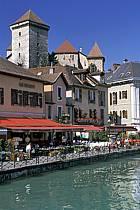 Château, Canal du Thiou, Annecy, Haute-Savoie, ref fc2043-34LE