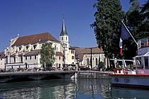 Église Saint François, Embarcadère, Annecy, Haute-Savoie, ref fc2043-37LE