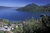 Duingt, lac d'Annecy, le Mont Veyrier, Haute-Savoie, ref fc2059-06LE