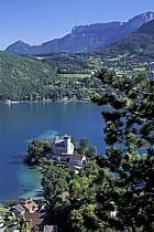 Château de Duingt, lac d'Annecy, Haute-Savoie, ref fc2059-12LE