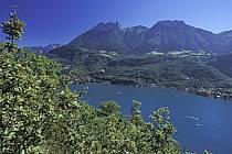 Lac d'Annecy, les Dents de Lanfon, Haute-Savoie, ref fc2059-19LE