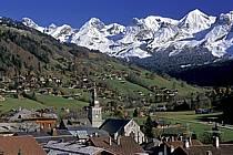 Village du Grand Bornand, Haute-Savoie, ref fc2091-04LE