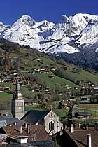 Village du Grand Bornand, Haute-Savoie, ref fc2091-09LE