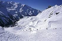 Remontées mécaniques, Le Brévent, Chamonix Mont-Blanc, Haute-Savoie, ref fc2167-11LE