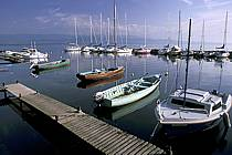 Port d'Yvoire, Lac Léman, Haute-Savoie, ref fc2221-03LE
