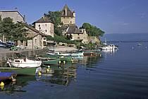 Yvoire, le Château, Lac Léman, Haute-Savoie, ref fc2221-14LE