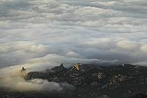 Aerial view, Corse, ref ha051673GE