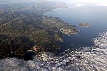 Au-dessus du détroit de Bonifacio, Corse / Sardaigne, ref ha051696GE