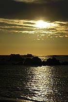 Coucher de soleil, Finistère, Bretagne, ref ha055224LE