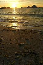 Coucher de soleil, Finistère, Bretagne, ref ha055225LE